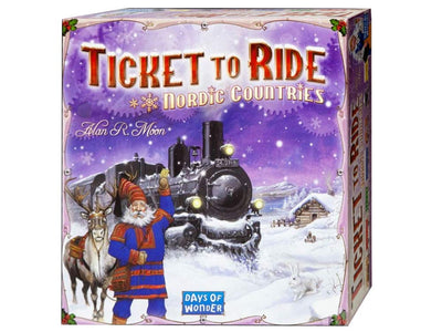 Ticket to Ride Nordic Countries Edition