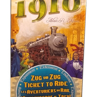 Ticket to Ride USA 1910 Expansion (Multilingual)