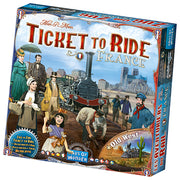 Ticket to Ride France + Old west Expansion map #6 (Multilingual)