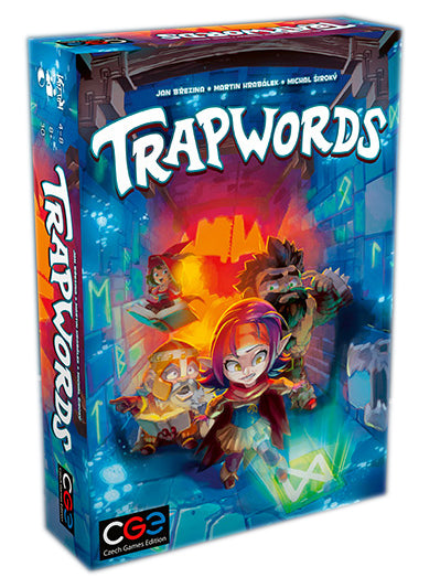 Trapwords Party Game