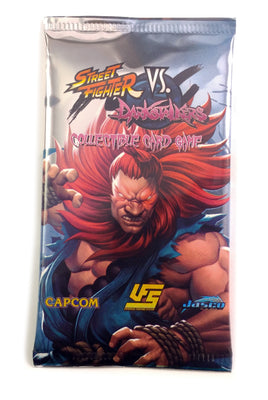 Universal Fighting System TCG, Street Fighter Vs Darkstalkers 1 Booster Pack