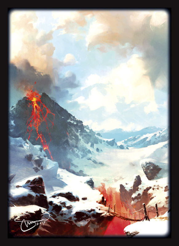 Standard Deck Protector, Lands 2018, Mountains (50)