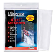 "Ultra Pro - 50 Soft sleeves,  8"" x 10"""
