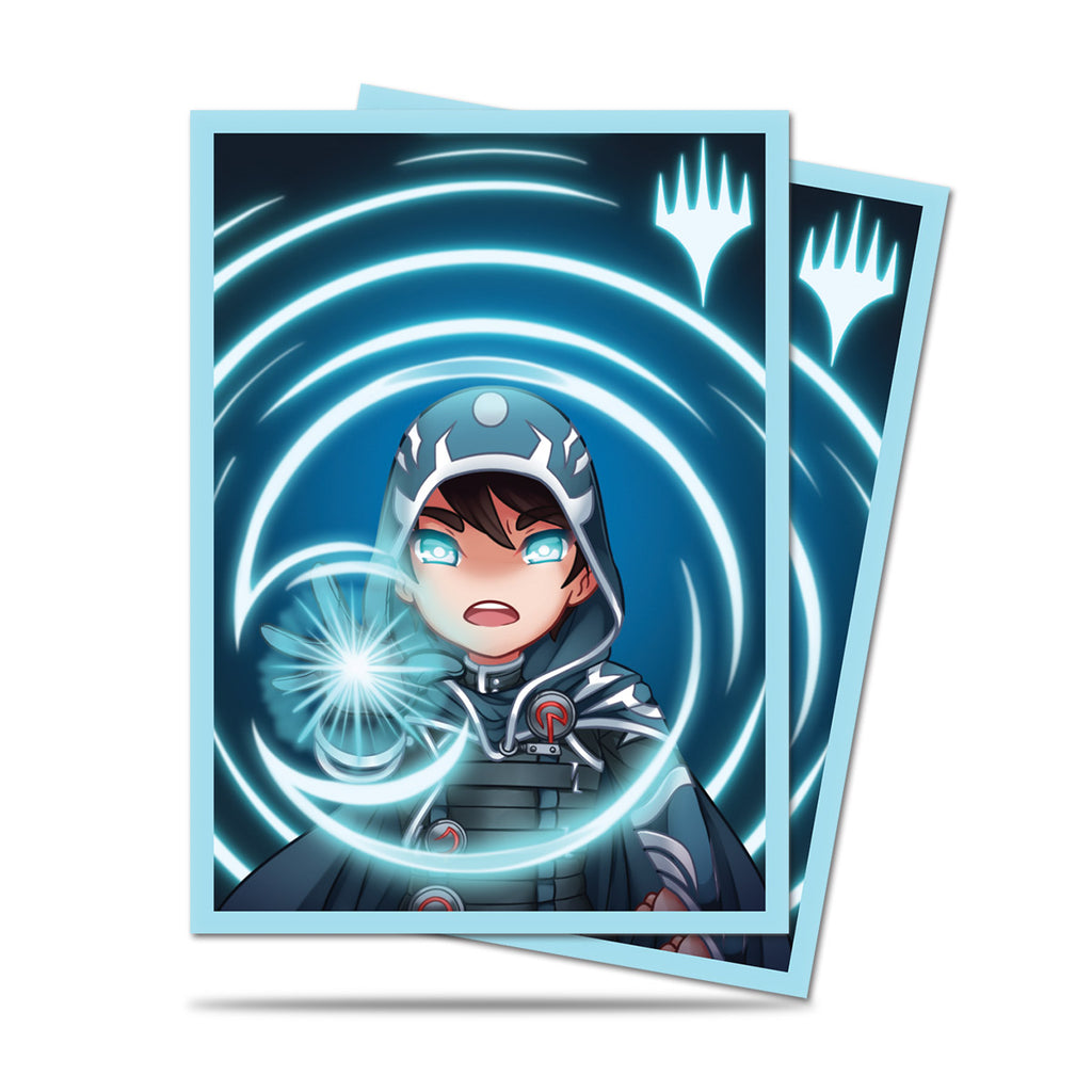 Magic the Gathering Deck Protector,  Chibi Collection Jace (100ct)