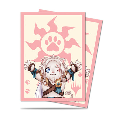 Magic the Gathering Deck Protector,  Chibi Collection Ajani (100ct)