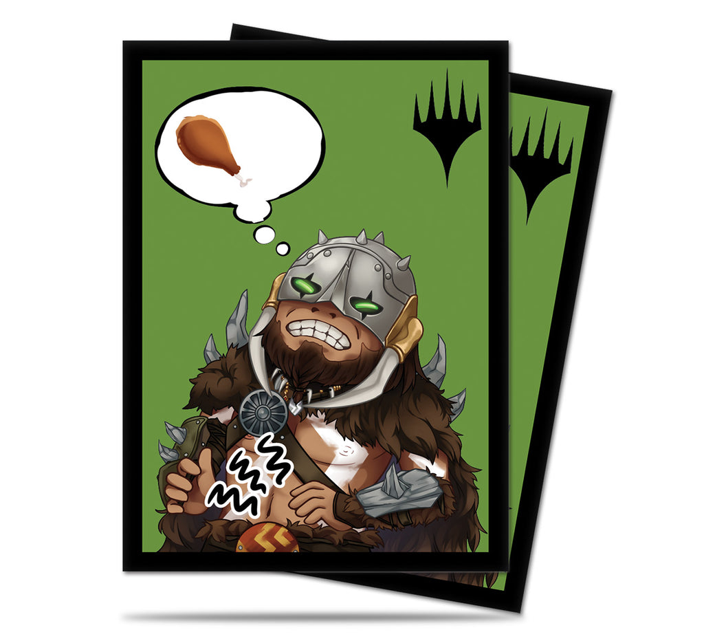 Magic the Gathering Deck Protector,  Chibi Collection Garruck (100ct)