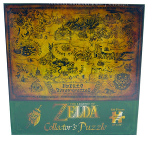 The Legend Of Zelda Hyrule map 550 pieces puzzle