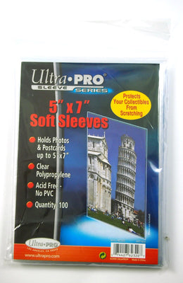 Ultra Pro - 100 Soft sleeves,  5