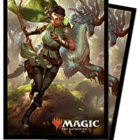 Magic The Gathering Deck Protector (100) Ikoria Vivien