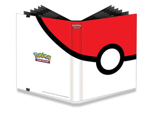 Full-View Pro-Binder Pokemon Pokeball