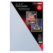 "Toploader  11"" x 17""  (1 packs of 10)"