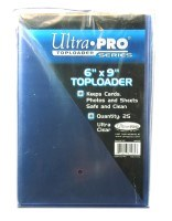 "Toploader 6"" x 9"" Regular (1 packs of 25)"