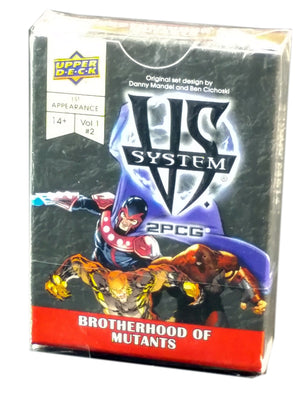 Vs System, Brotherhood of Mutants Expansion