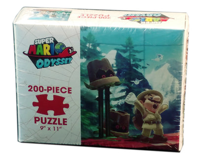 Super Mario Odyssey Wooded Kingdom 200 Piece Puzzle