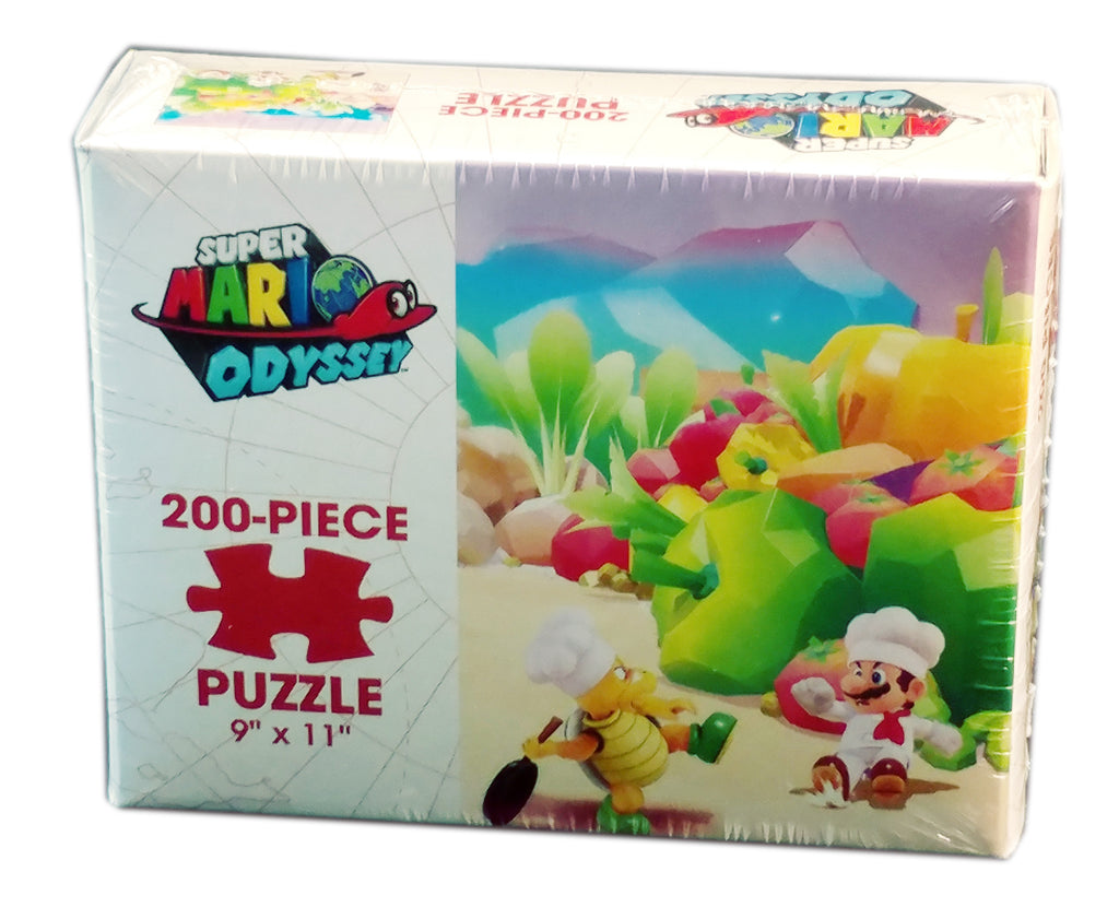 Super Mario Odyssey Luncheon Kingdom 200 Piece Puzzle