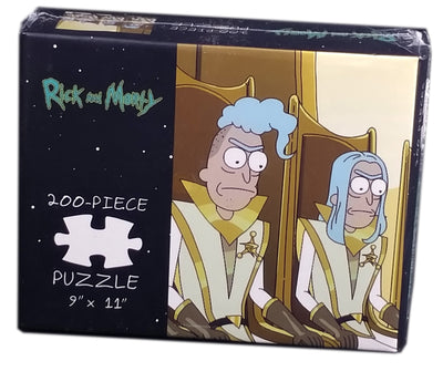 Rick and Morty Council of Ricks 200 Piece Puzzle