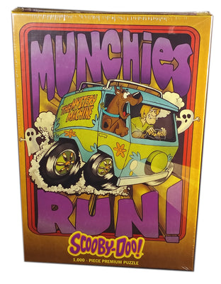 Scooby-Doo! Munchies Run, 1000 pieces puzzle