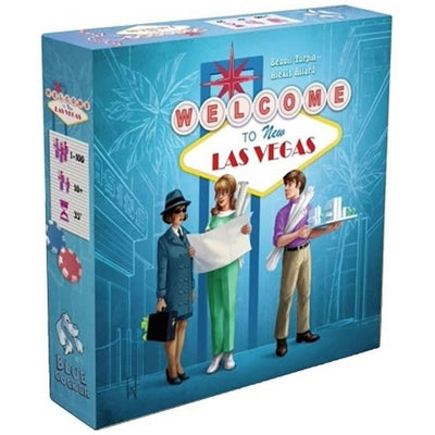 Welcome to New Las Vegas Board Game (Multilingual)