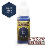 The Army Painter Warpaints Deep Blue WP1126