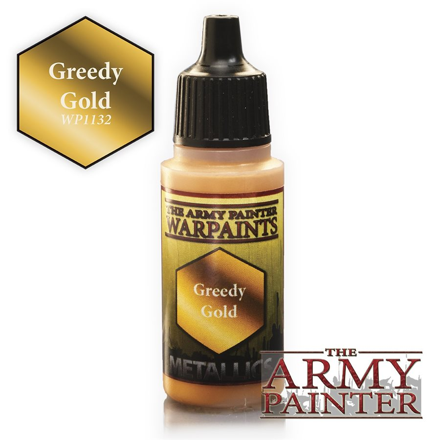 The Army Painter Warpaints Greedy Gold WP1132