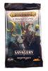 Warhammer Age of Sigmar TCG, Savagery Single Booster Pack