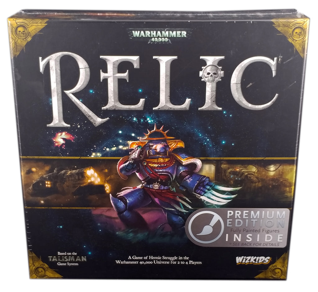 Warhammer 40k Relic Board Game, Premium Edition