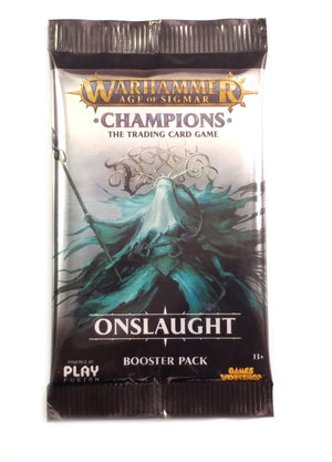 Warhammer TCG, Onslaught single Booster Pack