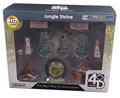 4D Setting Jungle Shrines Terrains Pack