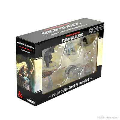 D&D Icons of the Realms Wild Shape & Polymorph Set 2