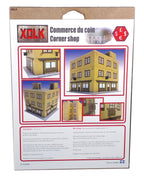 Corner Shop 15 mm Scale Wargaming Scenery