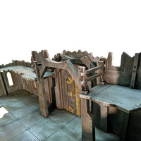 Iron City Factory, 28 mm Scale Wargaming Scenery