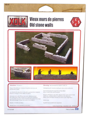 Old Stone Walls, 28 mm Scale