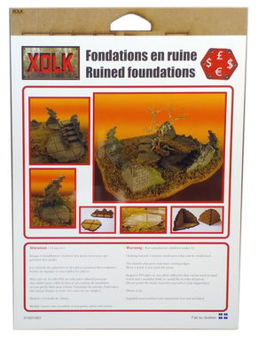 Ruined Foundations, 28 mm Scale
