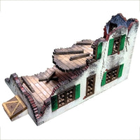 Wrecked Farm House, 15 mm Scale