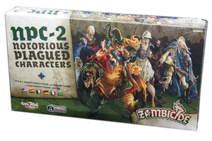 Zombicide: Black Plague NPC-2  Notorious Plagued Characters