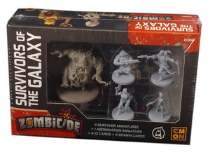 Zombicide Invaders Survivors of the Galaxy