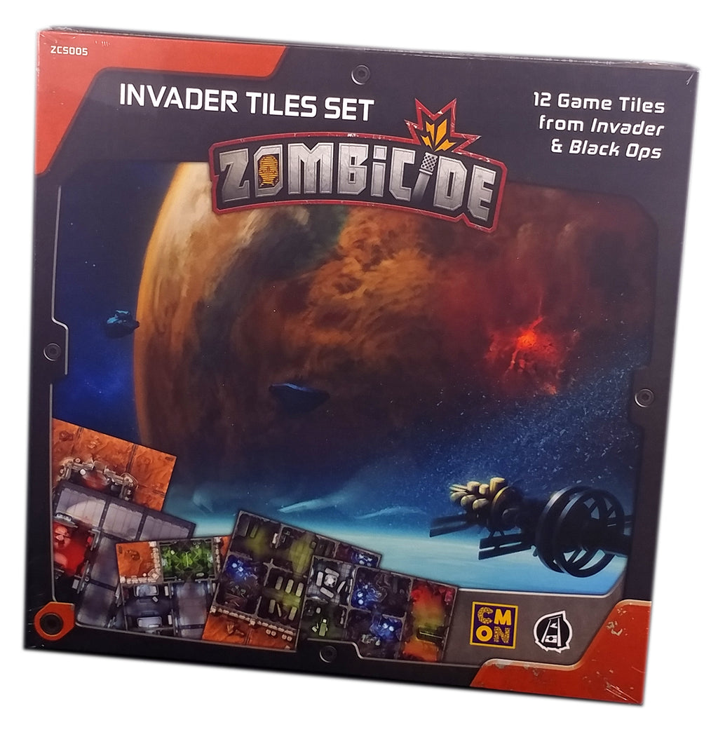 Zombicide Invaders Tiles Set Expansion