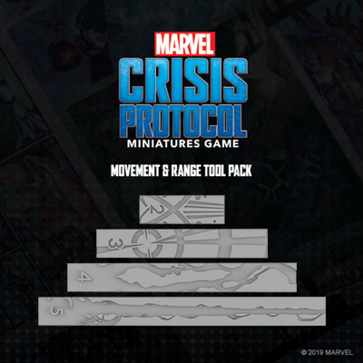 Marvel Crisis Protocol Movement & Range Tool Pack