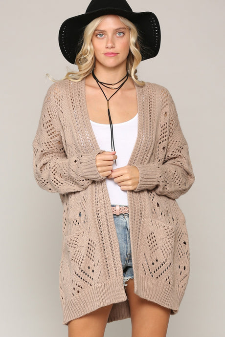 Cozy Oversized Cardigan