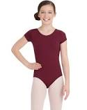 Capezio Girls'  Short Sleeve Leotard style TB132C