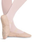 Bloch Adult Leather Ballet Shoe style 205L- 2 Colors