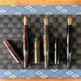 HAKOBUNE with Peter Bock #8 18K nib, Pen Point: Medium Fine