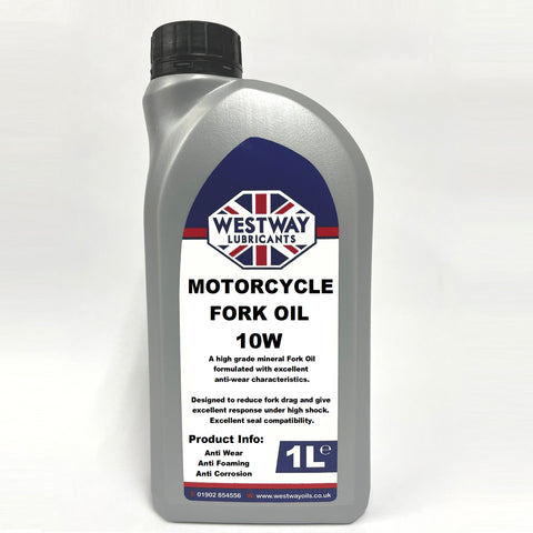 Fork Oil 10W Mineral Suspension - Shock Oil