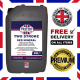 2 Stroke Oil Mineral (Red)