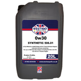 0w30 Fully Synthetic VW 506.01 Low SAPS Engine Oil