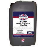 Ford 5w30 Fully Synthetic Engine Oil M2C913 FMC