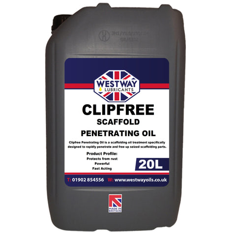 Scaffold Penetrating Oil Clip Lubricant - Clipfree