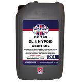 EP 140 GL-4 Mineral Gear Oil