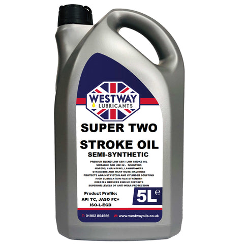 2 Stroke Oil Semi-Synthetic