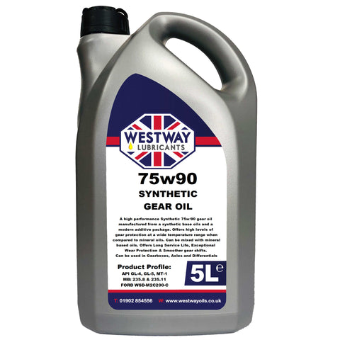75w90 Synthetic Gear / Diff Oil